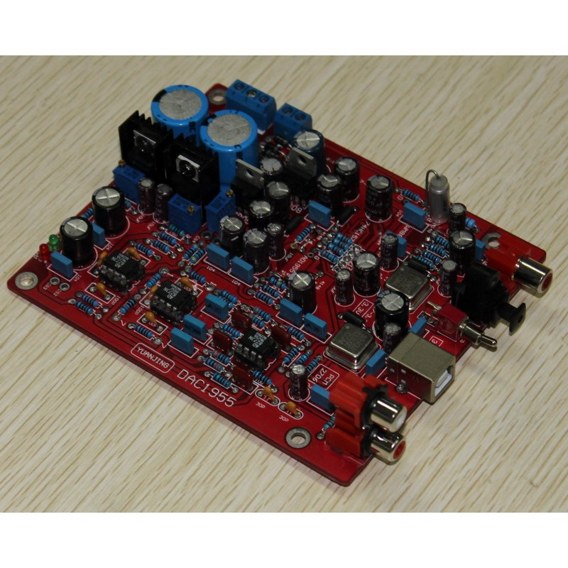 Yuan Jing Audio - 24Bit / 192KHz USB DAC Decoder Board