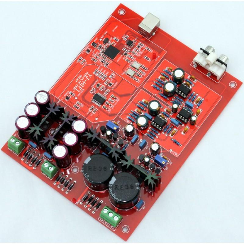Yuan Jing Audio - 24Bit / 192KHz USB DAC Decoder XMOS+WM8741