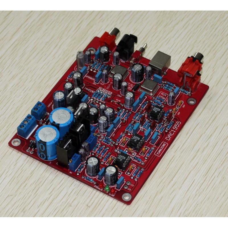 Yuan Jing Audio - 24Bit / 192KHz USB DAC Decoder Board