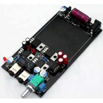 E11 Class-A Portable Headphone Amplifier Board