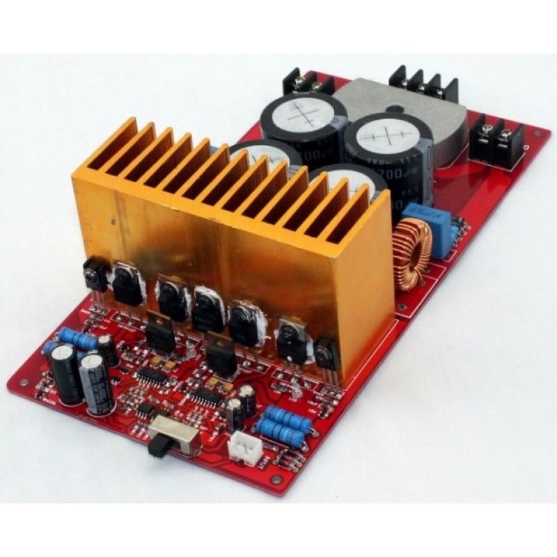 Yuan Jing Audio - IRS2092 Class-D Stereo Amplifier Board [500W+500W