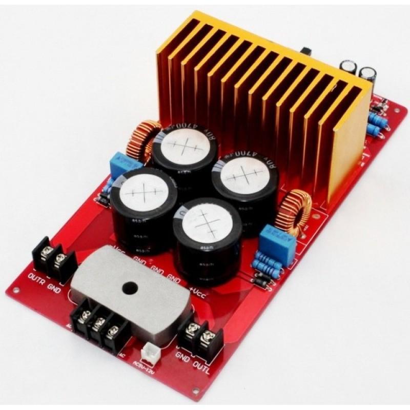 Yuan Jing Audio - IRS2092 Class-D Stereo Amplifier Board