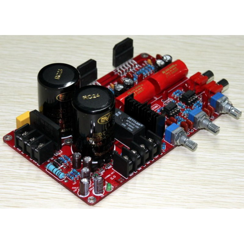 Yuan Jing Audio - LM3886 + NE5532 Stereo Power Amplifer [ 68W x2 ] +