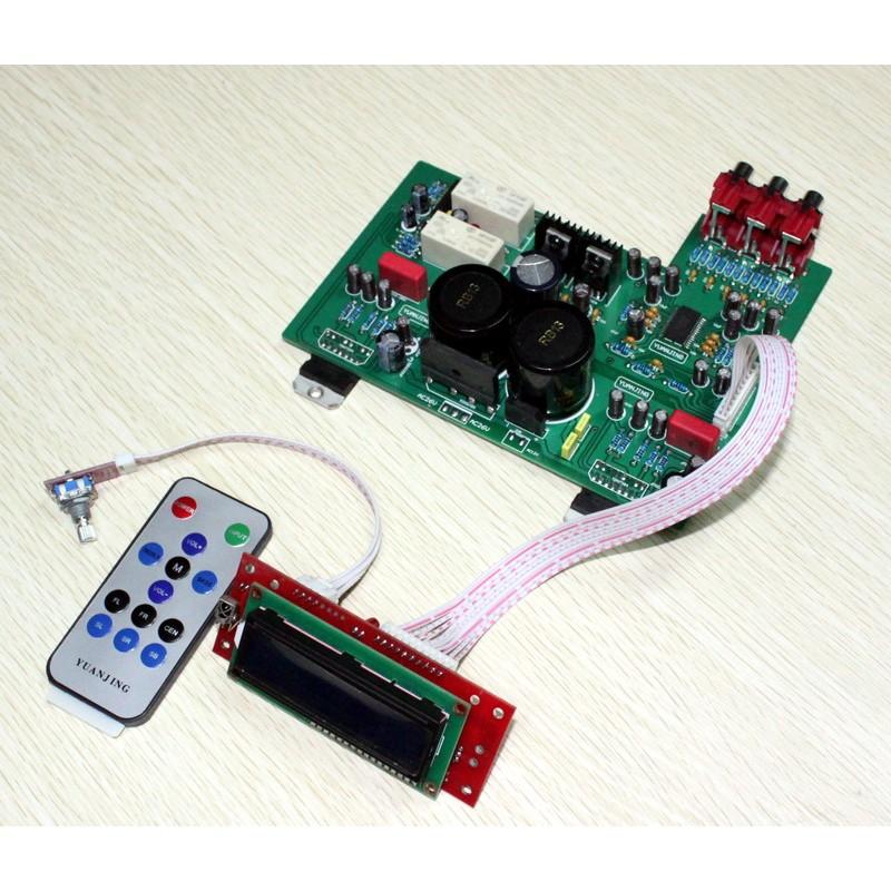 Yuan Jing Audio - TDA7293 Stereo Amplifier [80W+80W] + LC75342