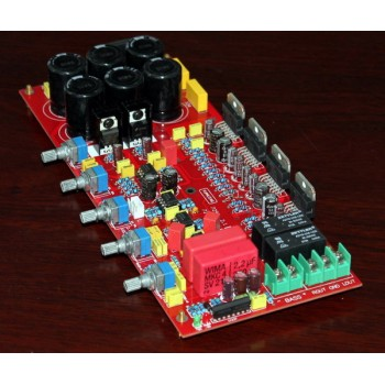 TDA7294 2.1-channel standard (upgrade) power amplifier Board (with speaker protection)