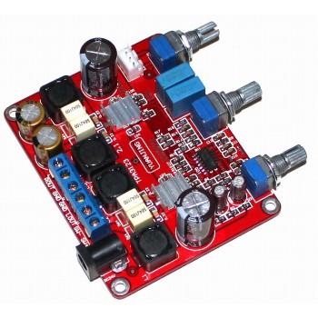 TPA3123 Class-D 2.1 Stereo Amplifier [25W x 2]+ Sub-Woofer Board [50W]