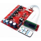 TPA3116 Class-D 6.0 Channels Amplifier Board [50W x 6] + M62446 LCD Remote Volume & Tone Control