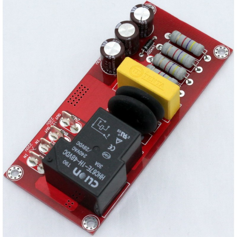 Chip Class A Amplifier Power Delay Buffer Soft Start Protection Bare PCB Board