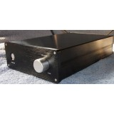 Aluminium Case - Pre-Amplifier - Black [A]