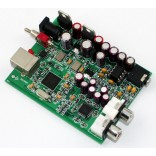 XMOS U8 USB Audio 32Bit / 384KHz DAC Decoder Board AK4490 + NE5532 HeadPhone Amp