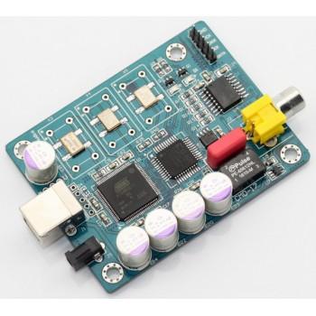 ITALY Amanero ATSAM3U1C + WM8805 USB Decoder Board Support IIS DSD512, 32Bit / 384KHz Coaxial Output