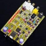 XMOS U8 USB Audio 32Bit / 384KHz DAC Decoder Board DSD1796 + MAX441 HeadPhone Amp
