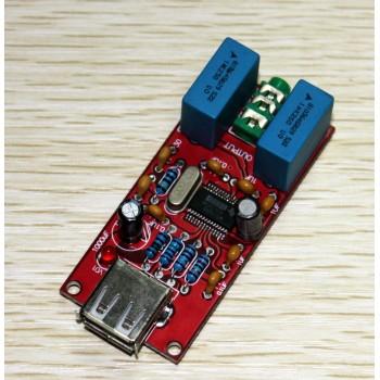 16Bit / 48KHz USB DAC Decoder Board PCM2704 Single-Ended Headphone Output