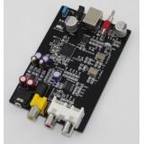 XMOS U8 USB Audio 32Bit / 384KHz  DAC Decoder Board PCM5102 + TDA1308 HeadPhone Amp