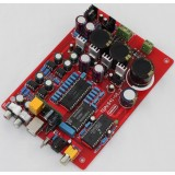 16Bit CD DAC Decoder Board  TDA1541 + SAA7220 + CS8412 + PCM2704 + NE5534 Optical, Coaxial, USB
