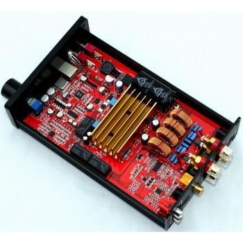 TDA7498 optical fiber coaxial USB DAC decoding amplifier (80W+80W)