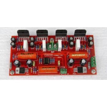 LM3886+NE5532 parallel BTL 200W power amplifier Board