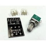 Audio Taper Potentiometer Stereo 100K-Ohm-Mini