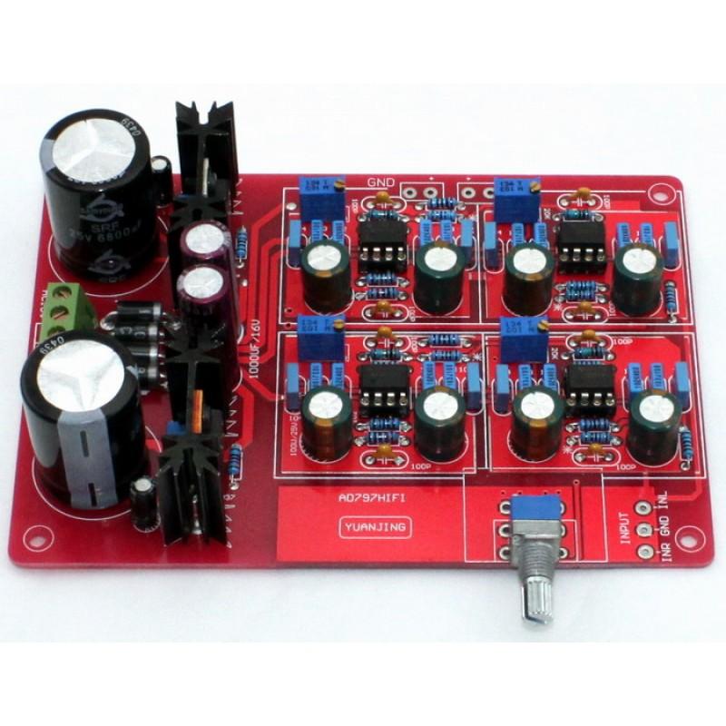 Yuan Jing Audio - NE5534 Pre-Amplifier Board [ MBL6010 Clone ] - USD