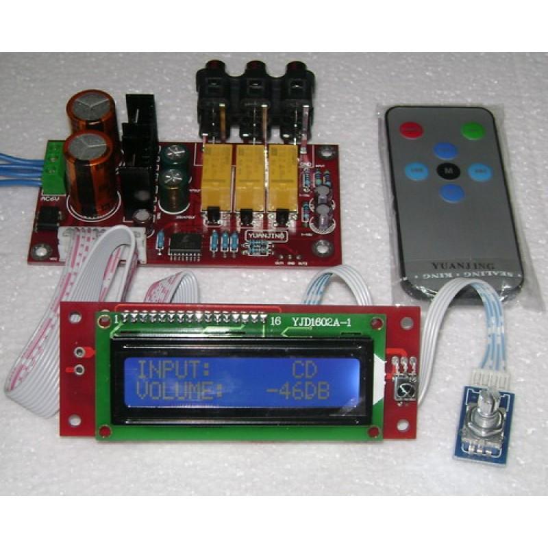Cirrus Logic CS3310 Remote Control Preamplifier Kit - DIY