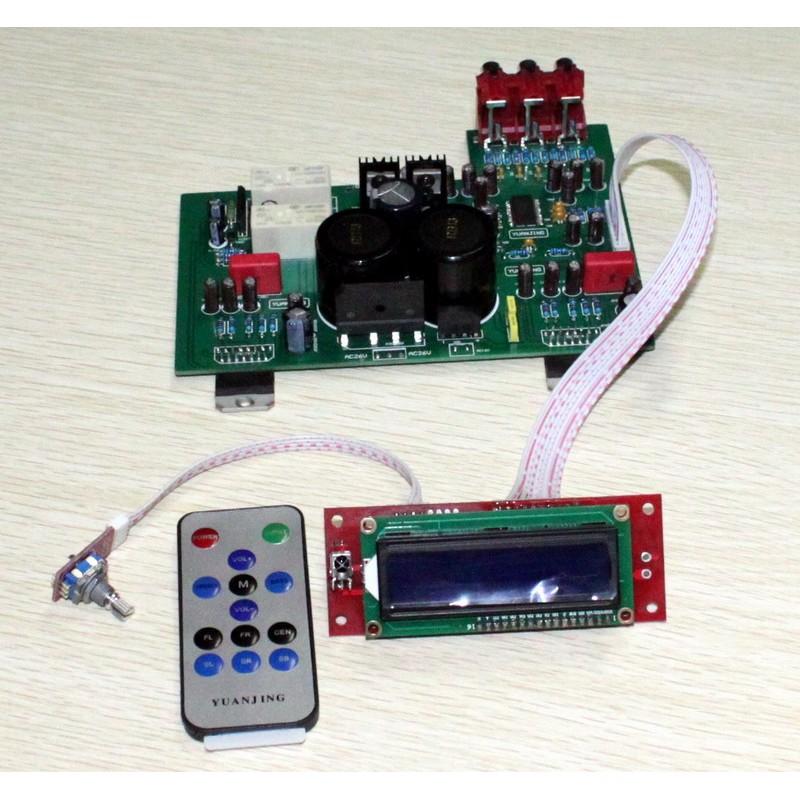 Yuan Jing Audio - Amplifier TDA7293 LCD remote control - USD