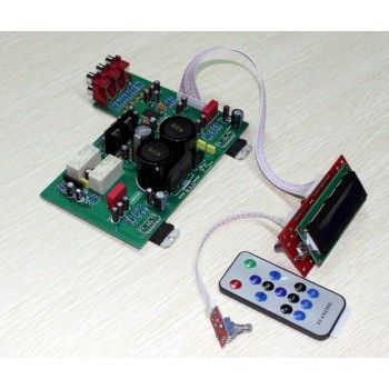 TDA7294 LCD remote control amplifier Board