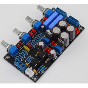 NE5532 Tone Control Pre-Amplifier Board