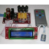 PGA2311 LCD Remote Volume & Channel Selector Board