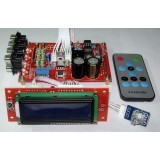 M62446 LCD Remote 6CH Volume With Tone Control & Channel Selector Board
