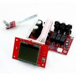 PGA2311 LCD 128x64 Remote Volume & Channel Selector Board