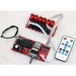 ALPS Motorized Remote Volume & Unbalanced x 4 + Balanced x 4 Channels Selector Board
