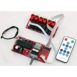 ALPS Motorized Remote Volume & Unbalanced x 4 + Balanced x 4 Channels Selector Board
