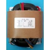R-Core Transformer 200VA, INPUT: AC 0-220V, OUTPUT: AC 0-12V x2, AC 0-20V x2
